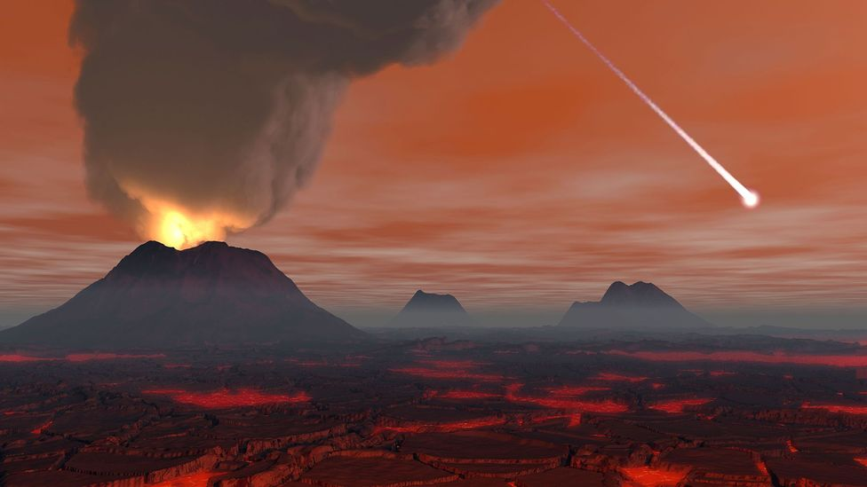 When Earth was young, there was no oxygen in the air (Credit: Stocktrek Images Inc/Alamy)