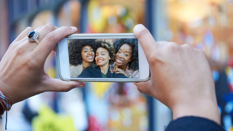 You think your selfies show you at your best - but a recent study suggests you are the worst person to judge (Credit: Getty Images)