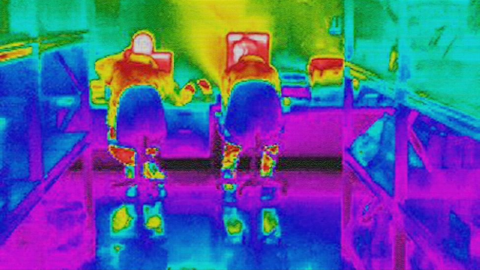 How hot is your office? Infrared thermal imaging (Credit: Alamy)