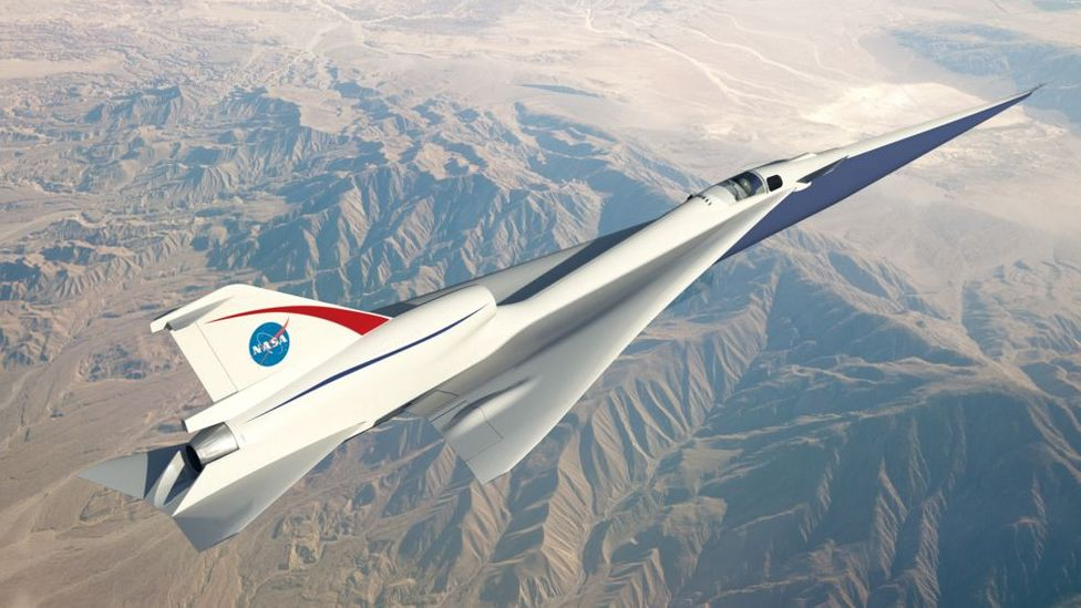 Is hypersonic travel possible without the 'boom'? (Credit: Nasa)