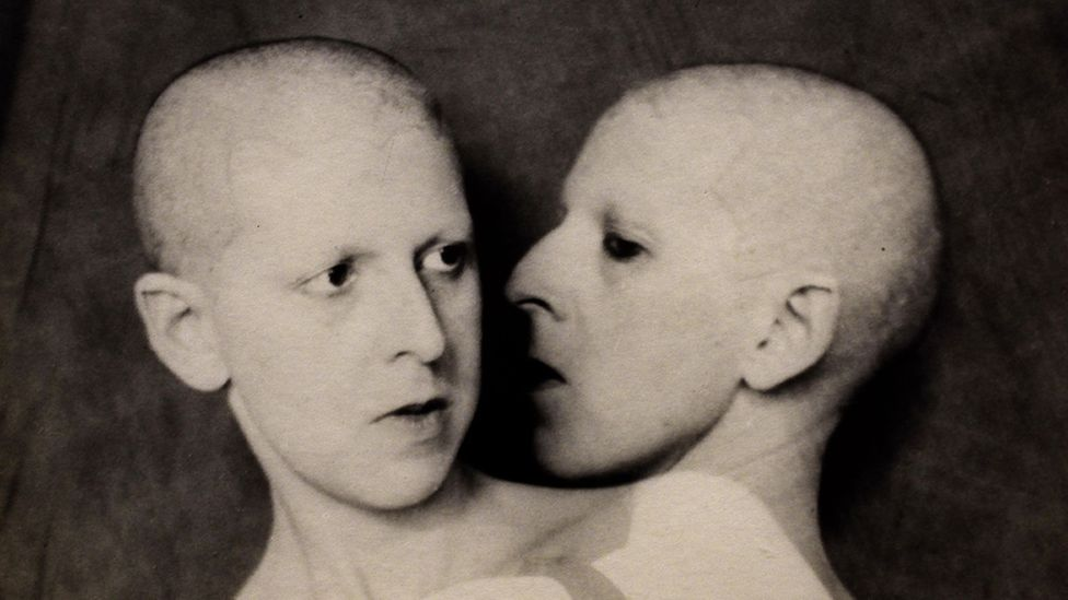 Cahun's 1928 photograph What Do You Want From Me uses multiple exposures to raise questions about identity (Credit: Alamy)
