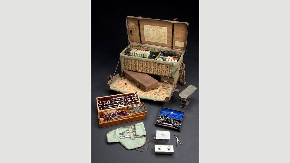 British field surgical pannier, 1914-16 (Credit: Science Museum/SSPL)