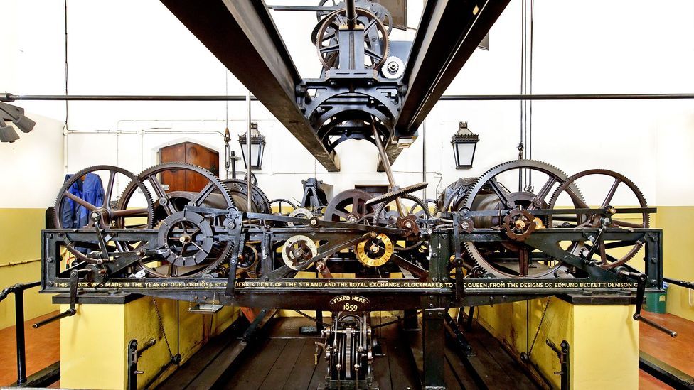 The elaborate mechanism that runs the world's most famous clock weighs around five tons (Credit: UK Parliament/Catherine Bebbington)