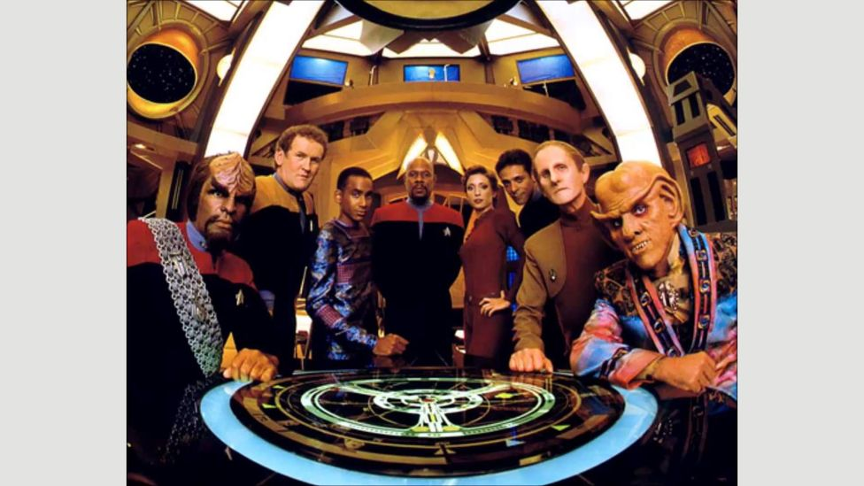Even before 9/11 the makers of Star Trek: Deep Space Nine presented their view that a culture-wide fear of terrorism could have negative political consequences (Credit: Paramount)