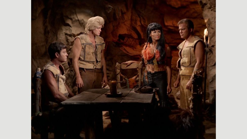 The episode A Private Little War presented an allegorical version of the Vietnam War, a comparison Kirk even makes explicit himself (Credit: Paramount/NBC)