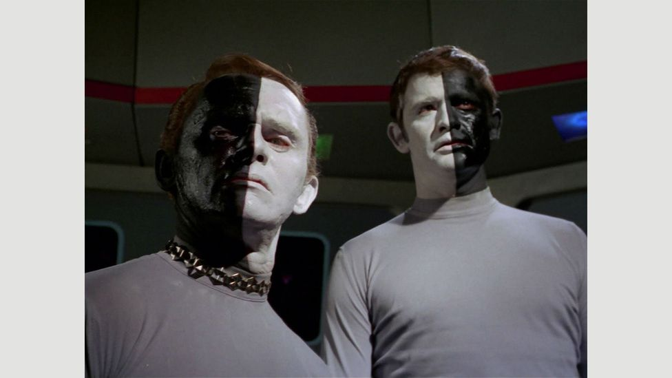 Star Trek rendered indictments of prejudice, demagoguery and war's injustice – while having amazing episode titles like Let That Be Your Last Battlefield (Credit: Paramount/NBC)