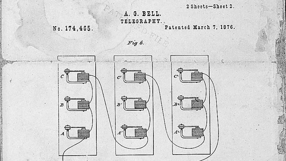Bell's patent application was judged to show he achieved a working design earlier than Gray