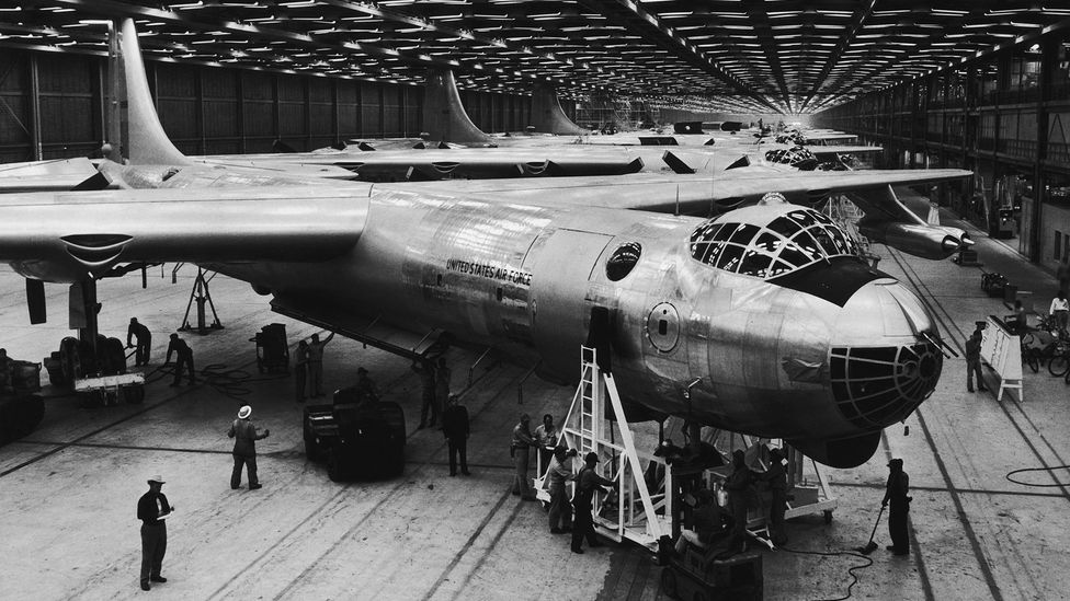 The US Air Force looked at converting B-36 bombers with a nuclear powerplant (Credit: Getty Images)
