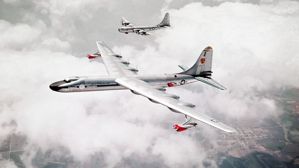 The single NB-36H flew dozens of missions – but the reactor was never used to power the aircraft in flight (Credit: US Department of Defense)