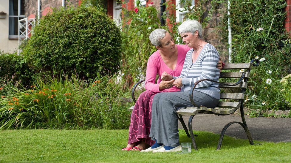 Looking after a relative can create a stressful 'job within a job' (Credit: Alamy)