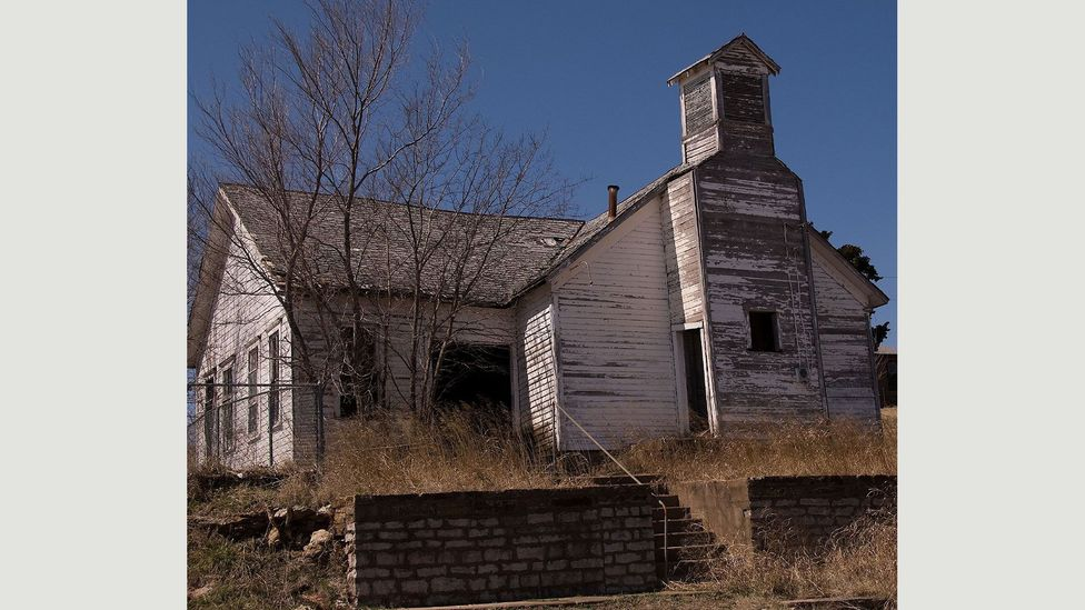 Oklahoma is another state that hosts a raft of now forgotten ghost towns, such as Burbank. In the '20s it was home to 3,000 people, but by 1930 that figure had fallen to just 372.