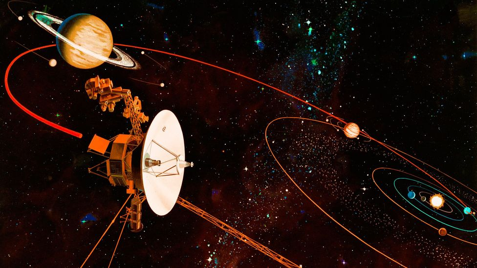 The Voyager 1 spacecraft has been drifting through space for the last 40 years (Credit: Getty Images)