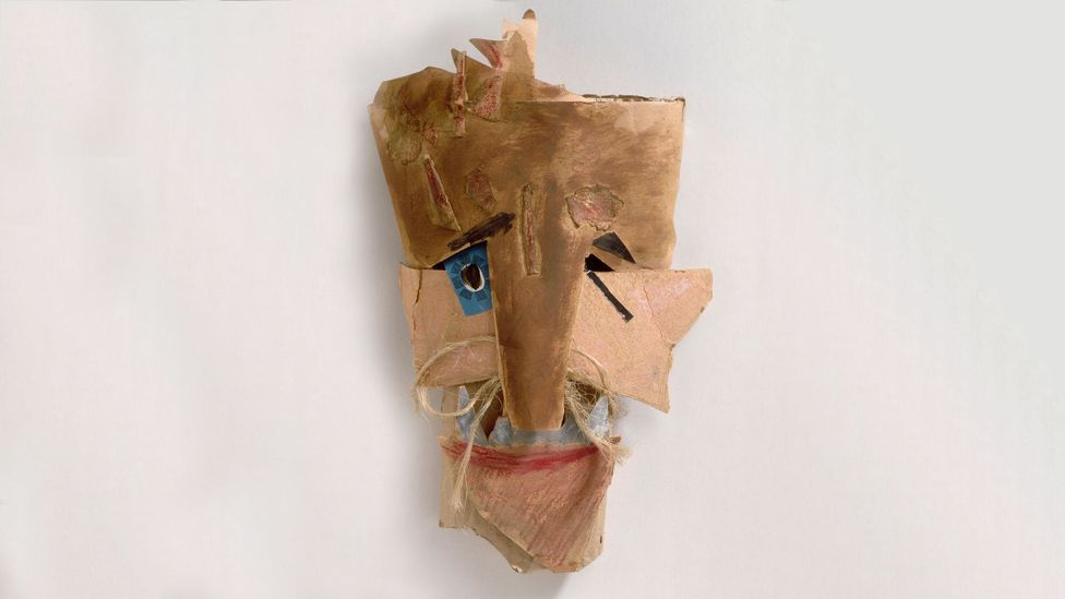 Janco's masks for the Cabaret Voltaire drew on influences from his native Romania as well as Africa (Credit: Marcel Janco)