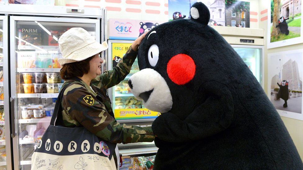 Kumamon is neither a cartoon character nor a brand icon (Credit: Getty Images)