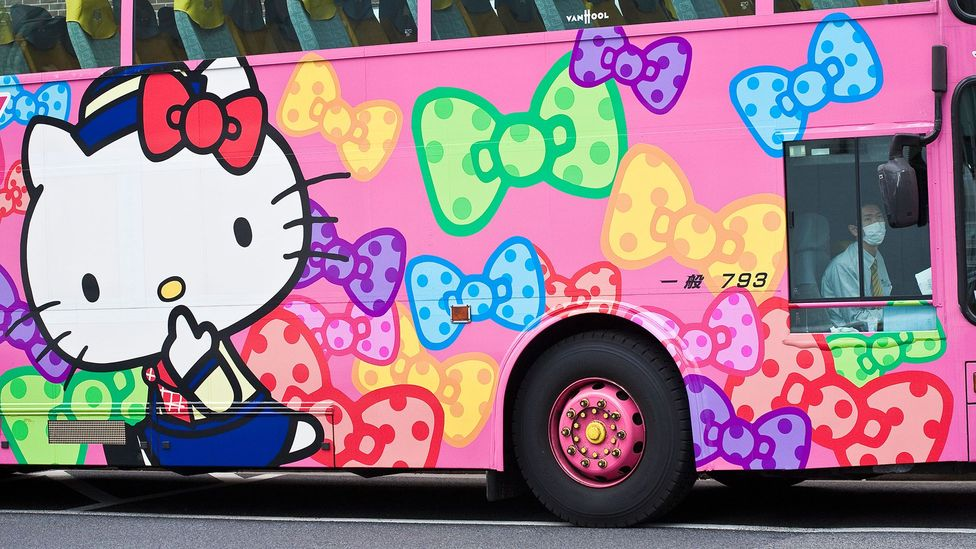 Today, about $5 billion worth of Hello Kitty merchandise is sold annually (Credit: Alamy)