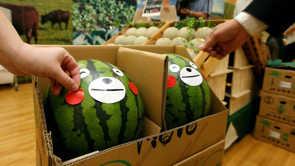 Go into a grocery store in some parts of Japan and Kumamon smiles from every fruit aisle (Credit: Getty Images)