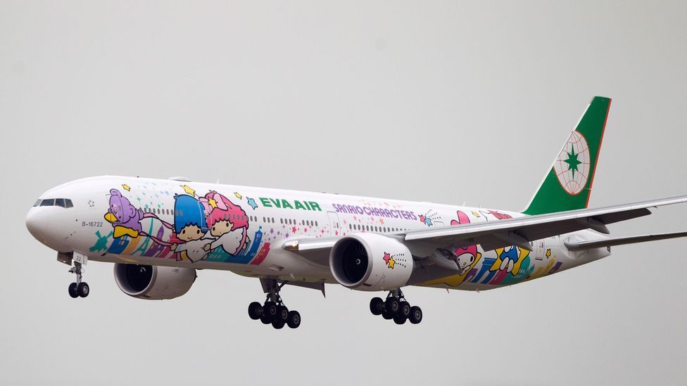 Cute characters adorn planes, and various other forms of transport (Credit: Getty Images)