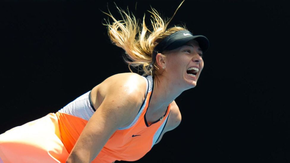 Former world number one female tennis player, Maria Sharapova (Credit: Alamy)