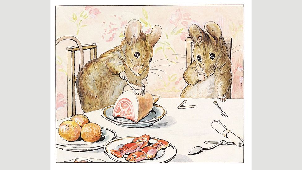 A Tale of Two Bad Mice can be read as an allegory of working class aspirations frustrated by rigid class hierarchies (Credit: Penguin)