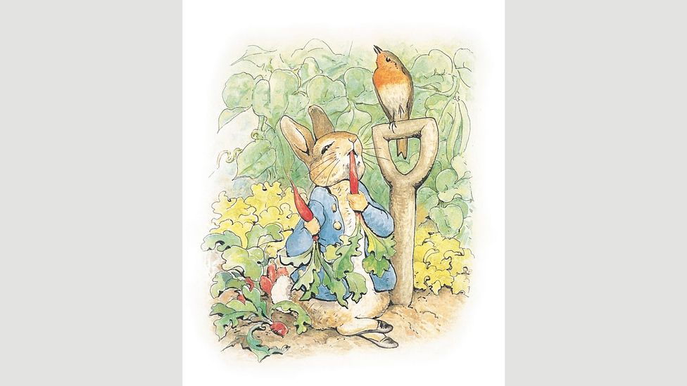Beatrix Potter's debut children's story, The Tale of Peter Rabbit, was published in 1902 – she would write until 1930 (Credit: Penguin)