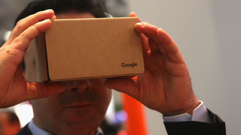 Google Cardboard is one of the cheaper ways to experience VR, if you already have a smartphone (Credit: Getty Images)
