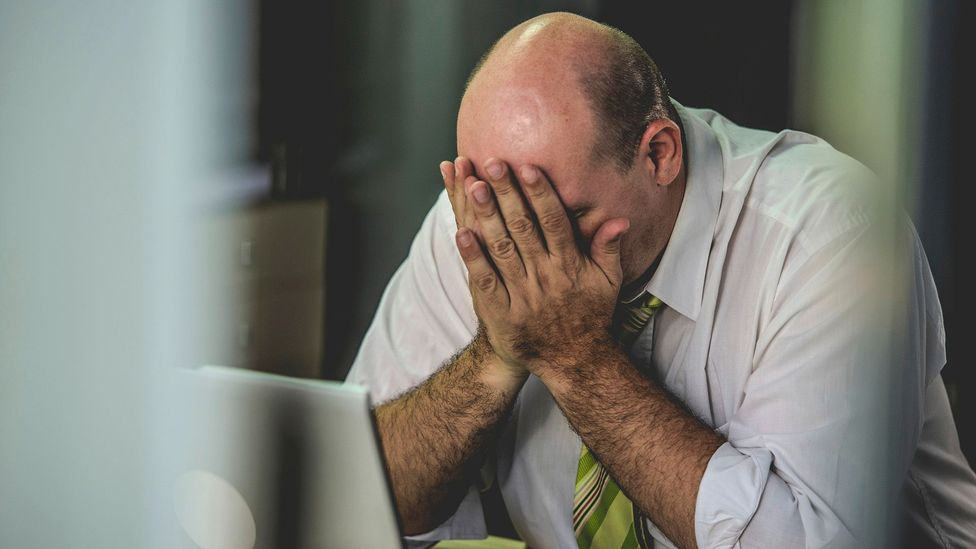If you tend to feel angry or frustrated, even mindless weekend activities like watching TV might not take your mind off work (Credit: iStock)