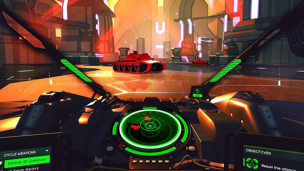 Battlezone's makers believe VR is more than just a gimmick, it's a fundamental shift in the gaming experience (Credit: Rebellion)
