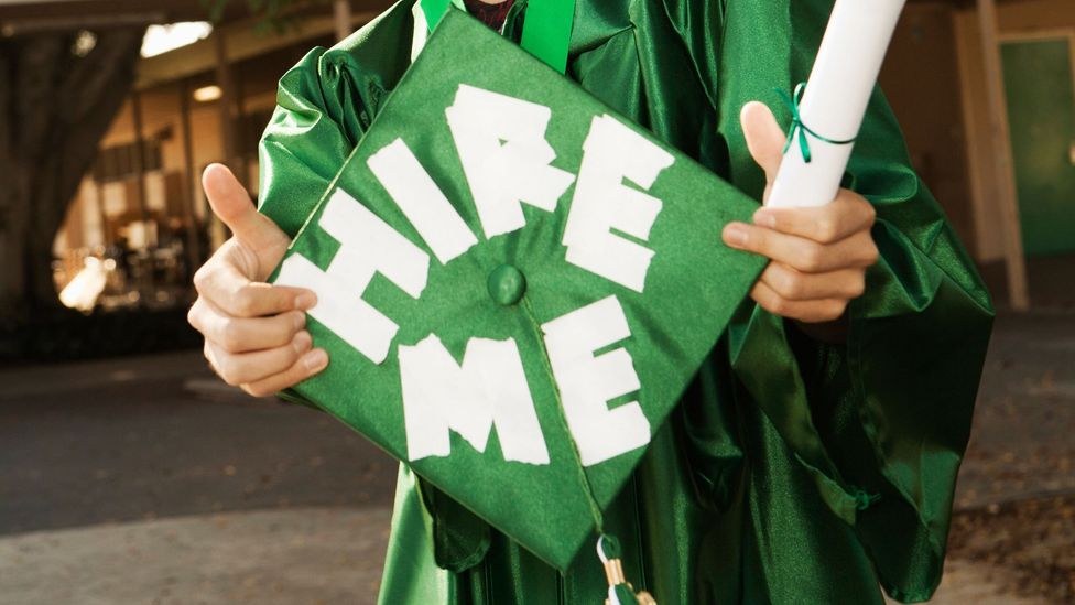 For new grads, the job market is better than it has been for years. There are simple ways to improve your odds. (Credit: Alamy)