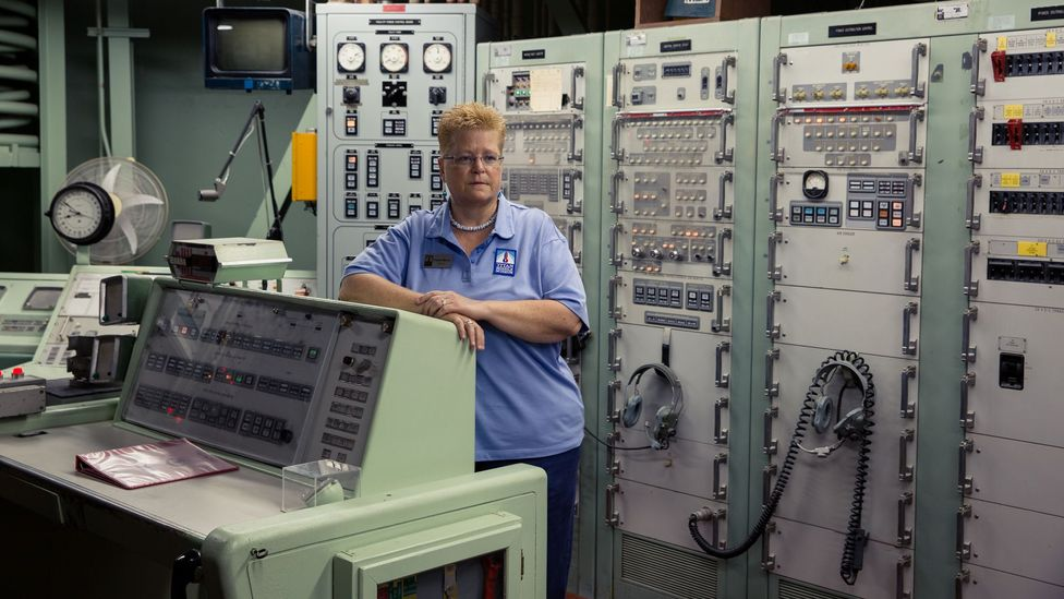 Yvonne Morris was the commander in charge of the missile silo (Credit: Chris Hinkle)
