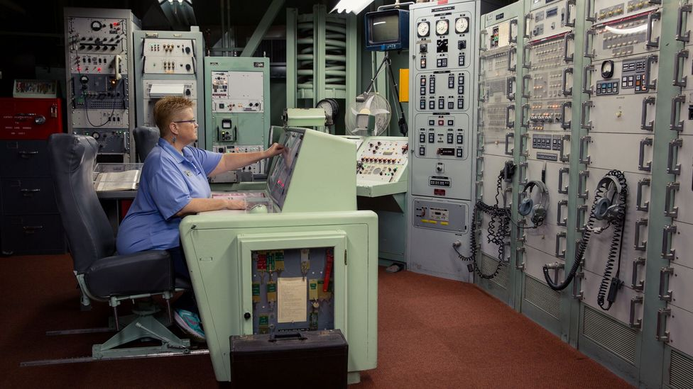 The control room was designed to survive the blast from a nearby nuclear strike (Credit: Chris Hinkle)