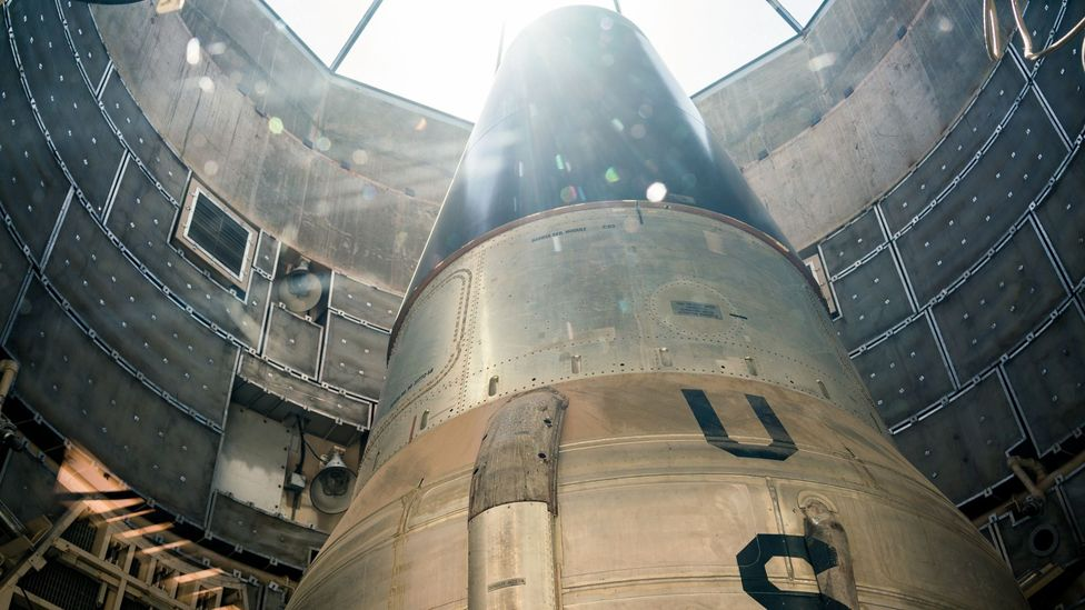 The Titan missile could launch in as little as 58 seconds (Credit: Chris Hinkle)