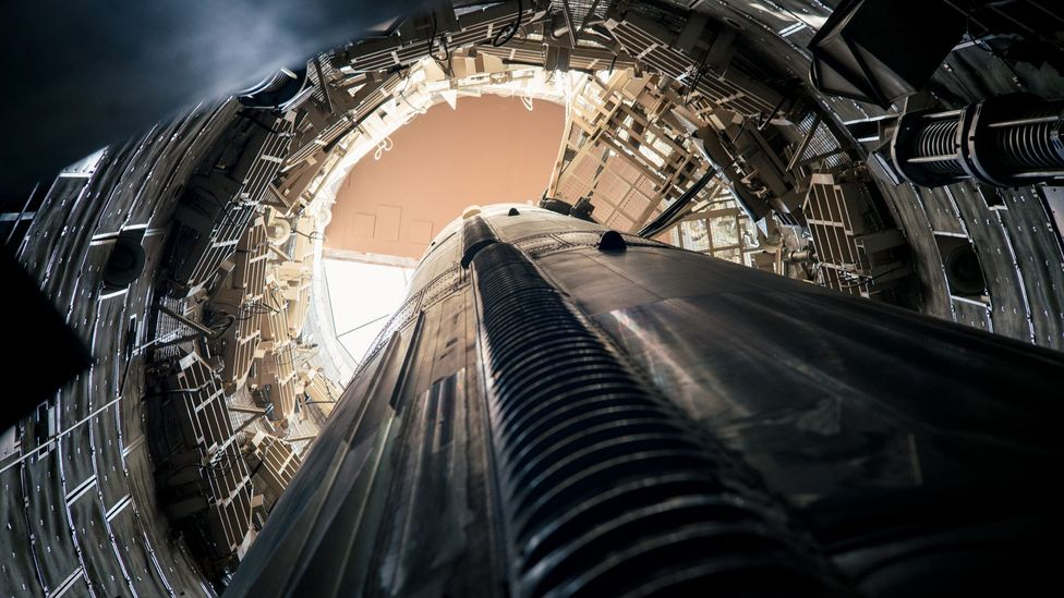 The base serves as a reminder of the unblinking, round-the-clock readiness of a nuclear deterrent (Credit: Chris Hinkle)