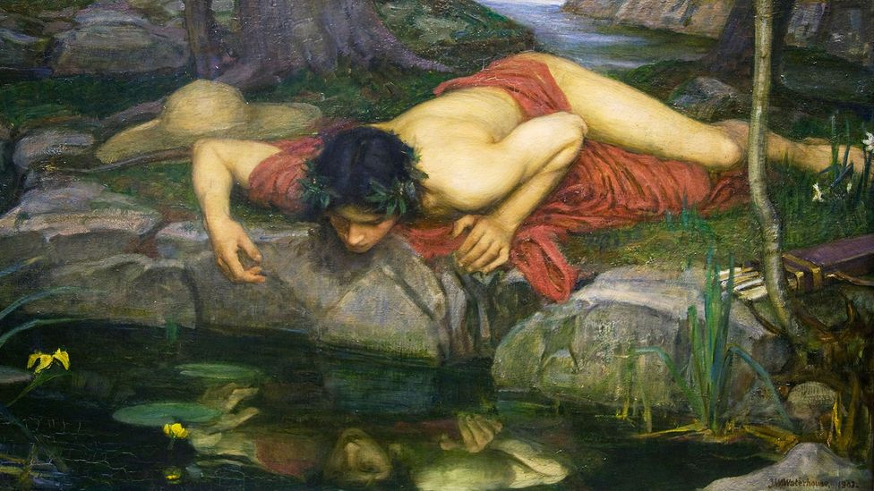 A detail of Echo and Narcissus by John William Waterhouse (Credit: Alamy)
