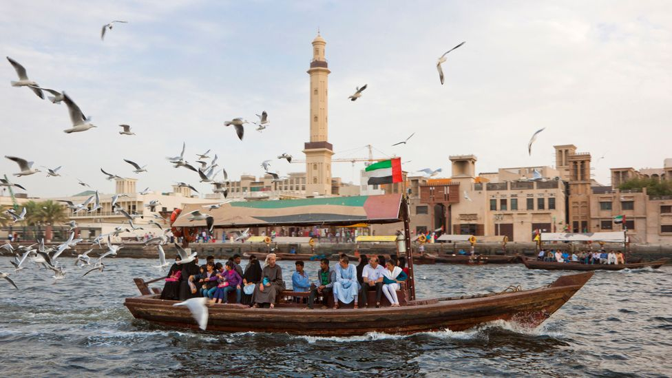 A water taxi in Dubai Creek (Credit: Getty Images)