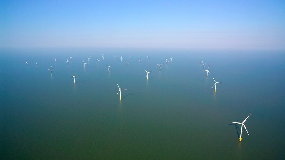 Wind turbines will one day have to be dismantled aswell (Credit: Getty Images)
