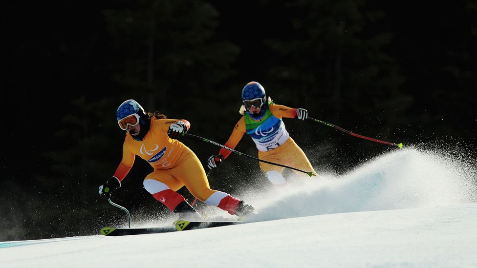 The exploits of Olympic and Paralympic skiers in Vancouver in 2010 did not make more people hit the slopes, research found (Credit: Getty Images)