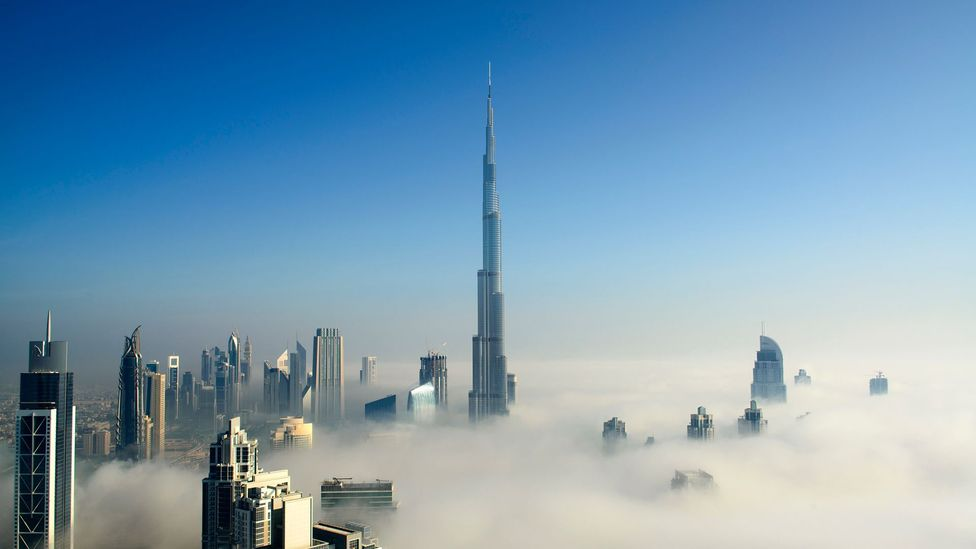 It took 22 million man hours to complete the Burj Khalifa (Credit: Getty Images)