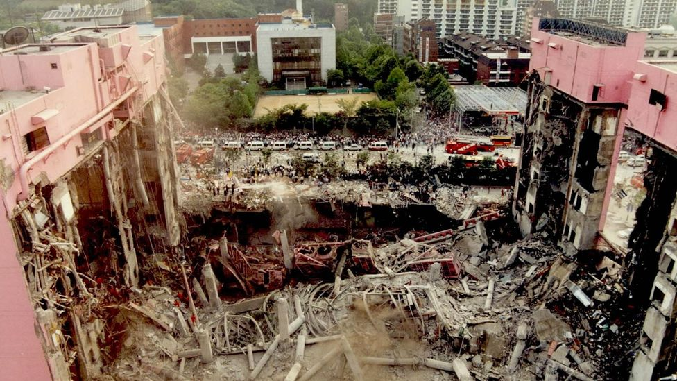 The Sampoong department store collapse was the deadliest peacetime disaster in South Korean history (Credit: Kwangmo/ Wikimedia Commons)