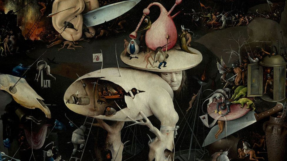 The Garden of Earthly Delights (Credit: Wikipedia)