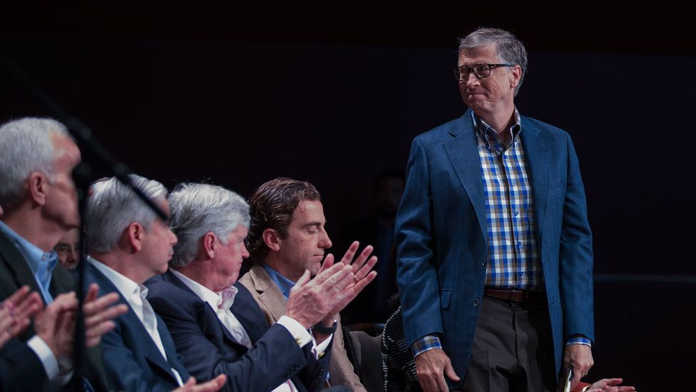 Now known for donating over $28bn to charity, Bill Gates was once famously easy to anger. In fact, anger and altruism may be closely linked (Credit: Getty Images)