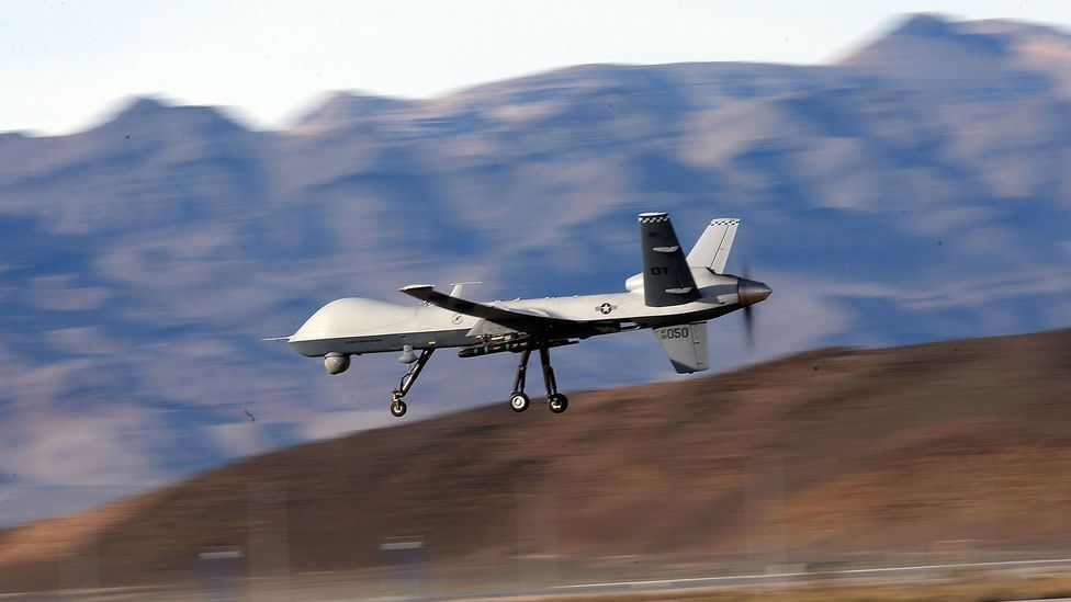 An errant Reaper drone was shot down during US operations in Afghanistan (Credit: Getty Images)