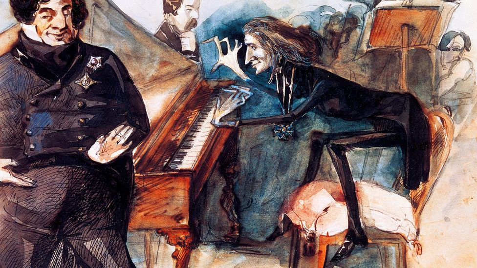 Liszt was a great showman who delighted audiences with his renditions of fiendishly difficult works (Credit: De Agosttini/Getty Images)