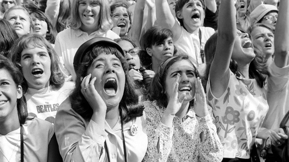 Women scream for The Beatles in New York (Credit: Trinity Mirror/Alamy)