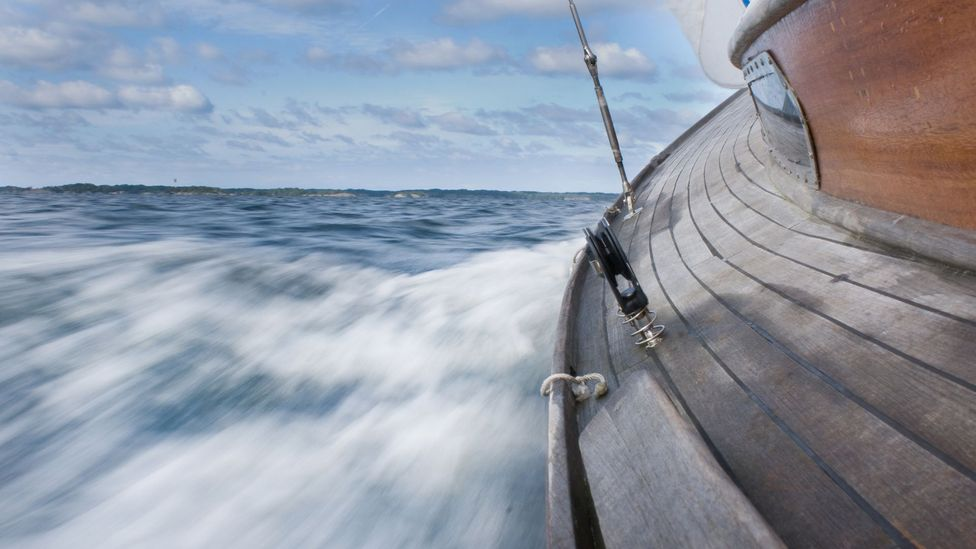 Small boats close to land are a safer bet for those who suffer from seasickness (Credit: Getty Images)