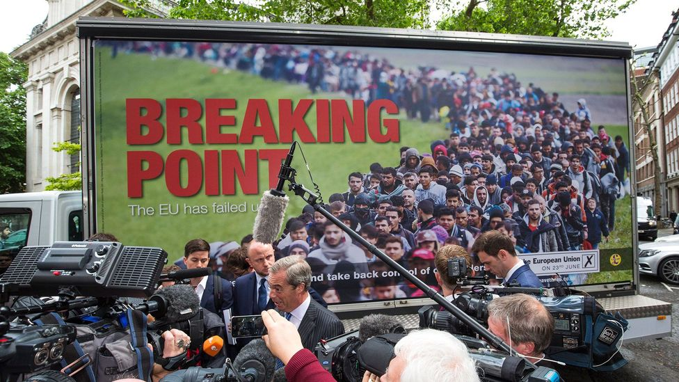 Across Europe, the gap between the political  left and right is widening (Credit: Getty Images)