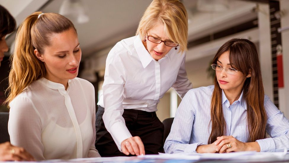 Not being afraid to lay down the law can actually generate more esteem among employees (Credit: Alamy)