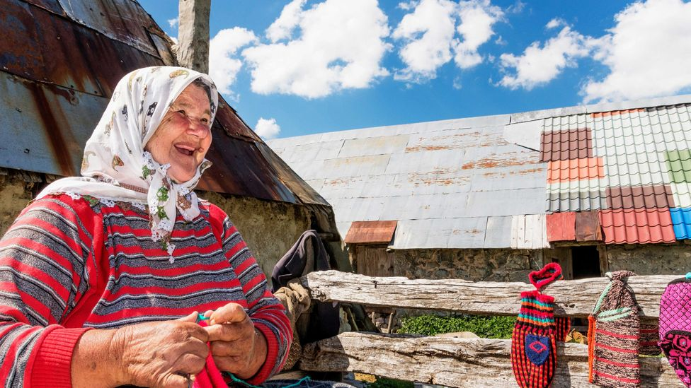 Those who live in Lukomir content themselves with the gentle rhythms of village life (Credit: Alessandra Gaeta / Alamy)