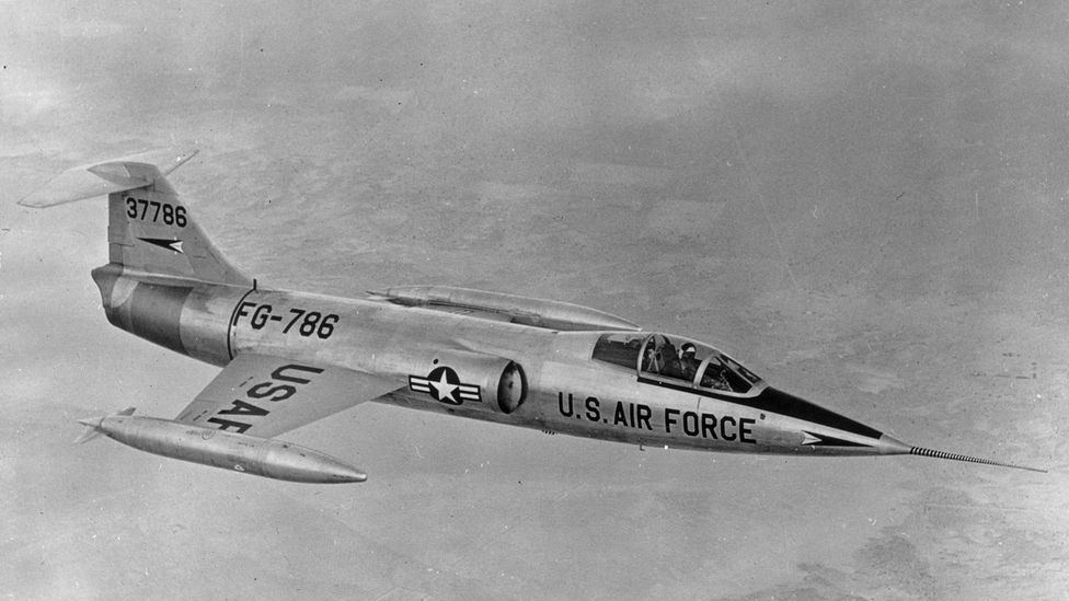 The F-104 was the first jet to fly at twice-the-speed of sound for sustained periods (Credit: Getty Images)