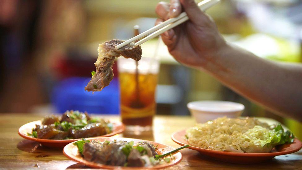 When in Hong Kong, take full advantage of the bustling food scene (Credit: Sarah Treleaven)