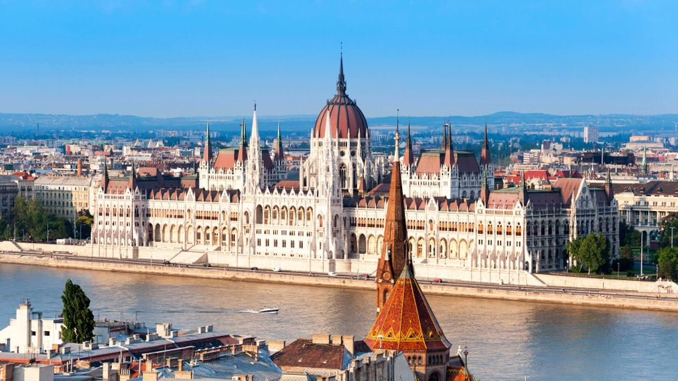 View of the river Danube and the Hungarian Parliament Building (Credit: Alex Segre / Alamy)